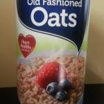 Refrigerator Oatmeal Ingredient