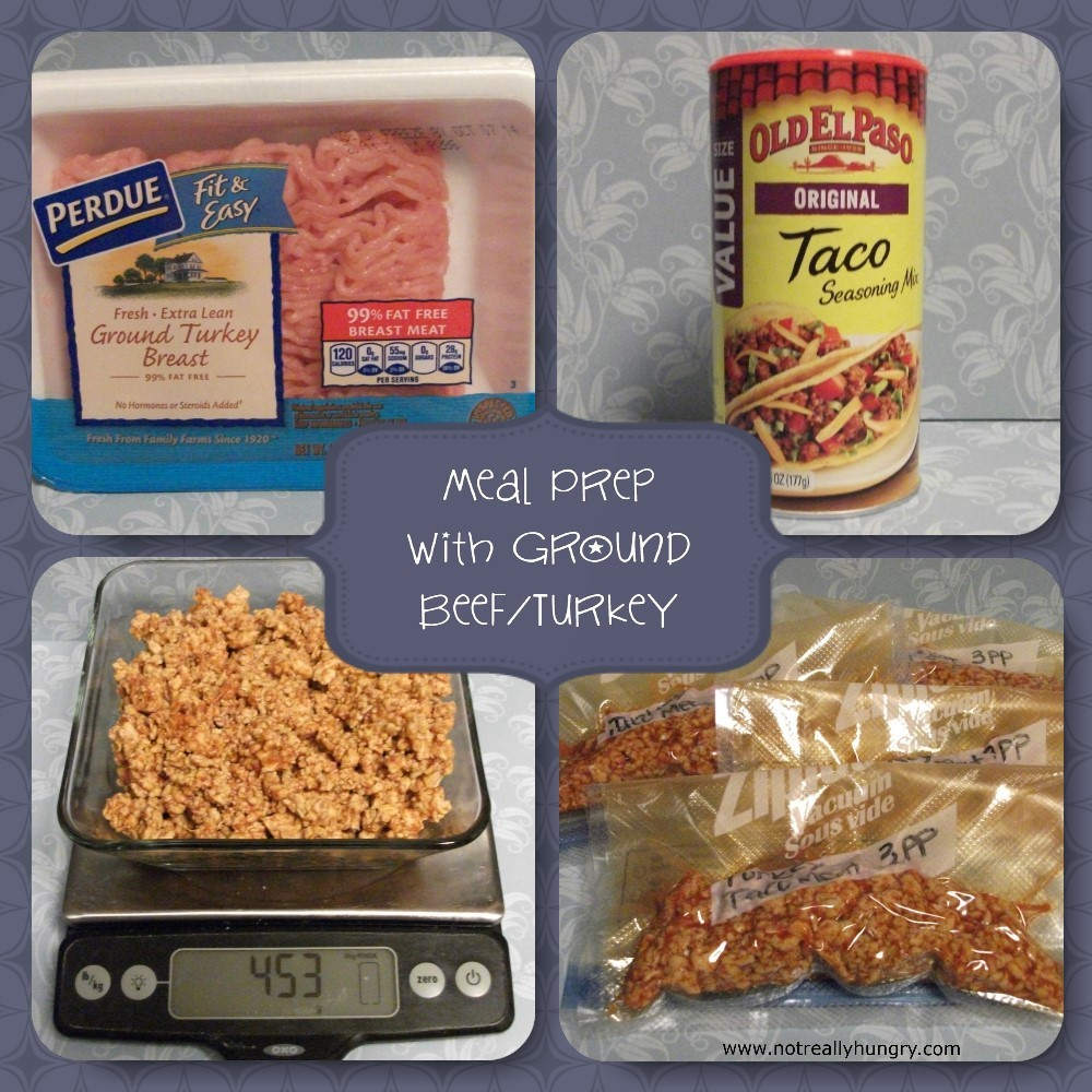 Meal Prep Ground Beef and Turkey