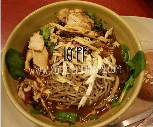 Panera Soba Noodle Bowl