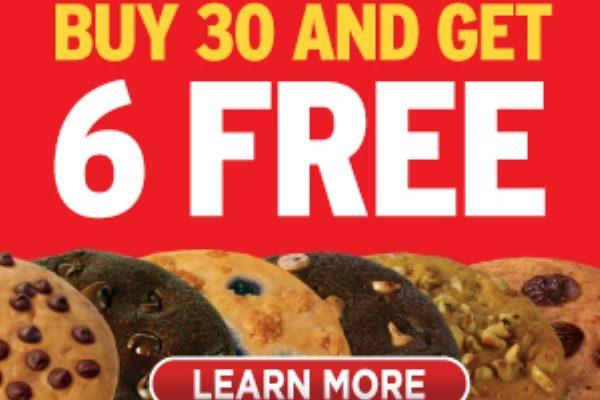 Buy 30 Get 6 FREE
