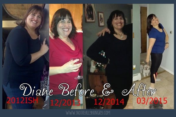 Diane Before and After