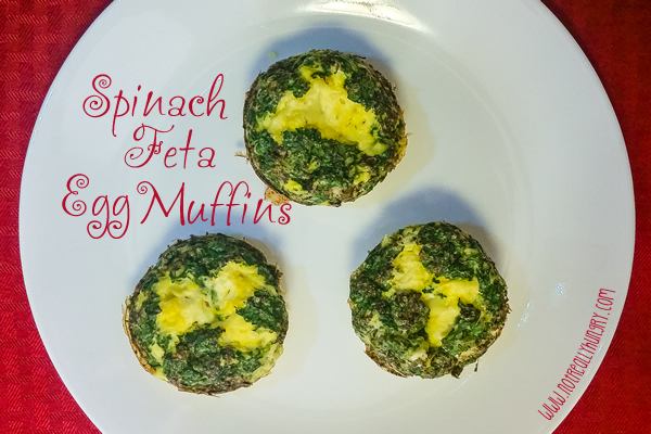 Spinach Feta Egg Muffins