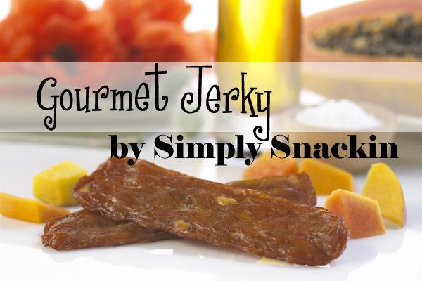 Simply Snackin Gourmet Jerky