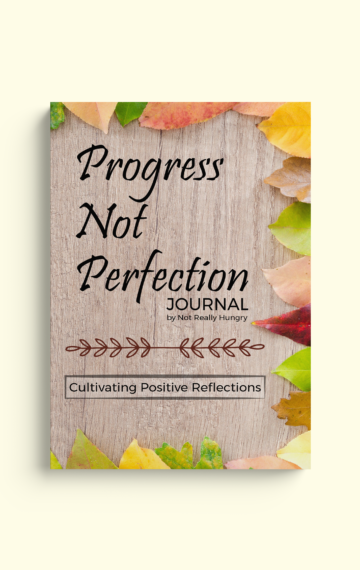 Progress Not Perfection Journal