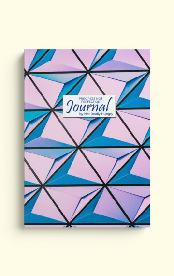 Progress Not Perfection Journal (Geometric Cover)